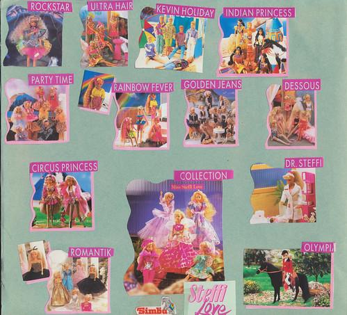 Steffi Love Scrapbook circa 1997