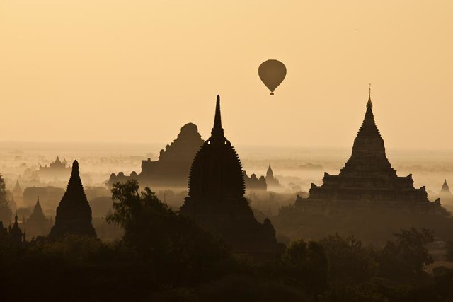 Bagan sunrise - Myanmar