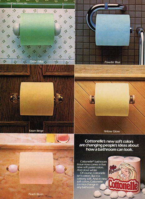 Colored Toilet Paper Ad 1982 Flickr Photo Sharing