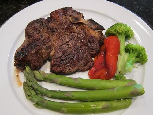 Grass fed, beef, porterhouse, steaks IMG_5448