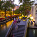 San Antonio Riverwalk Evening