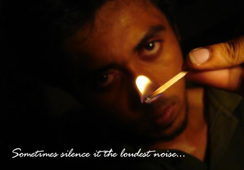 Loudest silence........