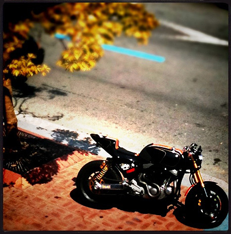 SPORTSTER 1200S by @hotrod1203 crazy-garage