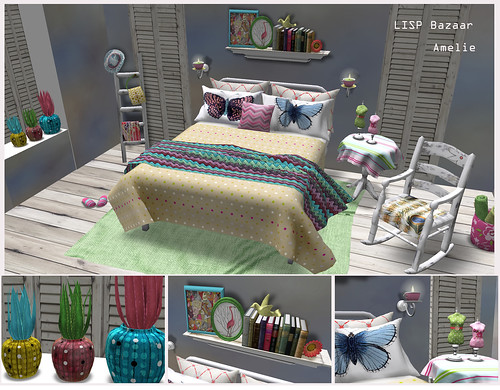 Amelie Bedroom