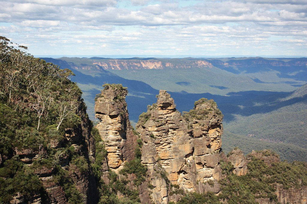 The Three Sisters, Katoomba, NSW.
