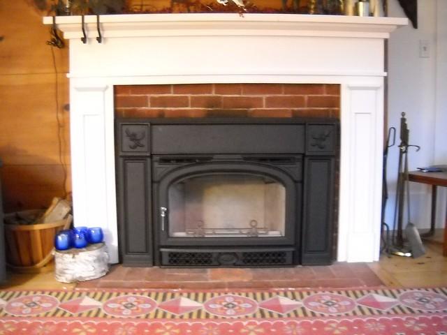 Wood Burning Fireplace Insert Installation Flickr Photo Sharing