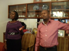 Pastor Ken Kamau and his wife Pastor Ruth