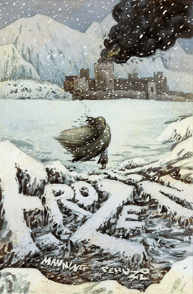 Frozen Cover illustrated by Anthony Peruzzo