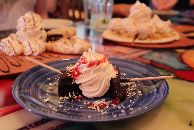 Chocolate dipped cheesecake lollipops | At Cafe tu tu Tango ...