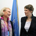 Helen Clark meets new Director-General of the Swedish International Development Cooperation Agency, Charlotte Petri Gornitzka