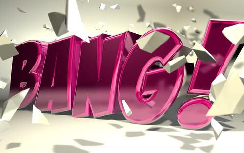 "C4D - ""Bang"" Typography by _b4ddy"
