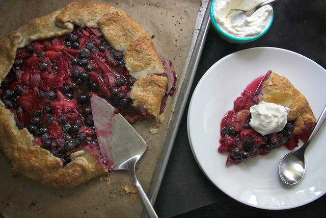 triple berry galette | Flickr - Photo Sharing!