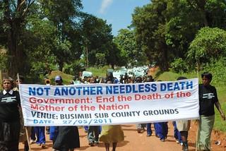 Mityana protesters KC Sharifah Nabukenya