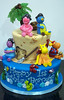 BC4015 - Backyardigans birthday cake