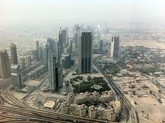 Downtown Dubai from the Burj Khalifa