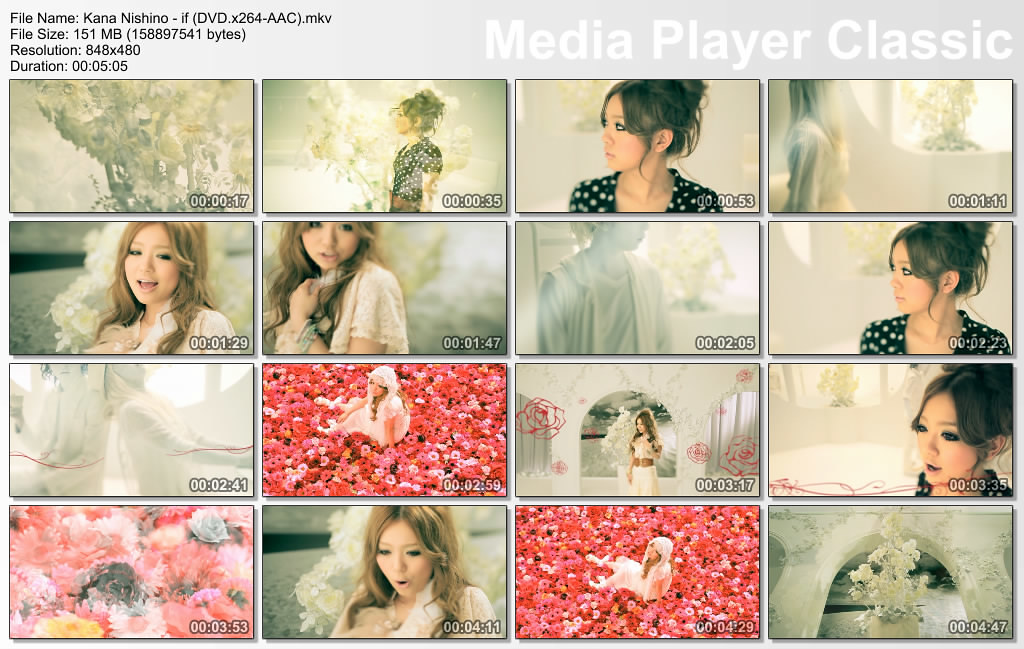 Kana Nishino - if (DVD x264-AAC) mkv_thumbs_[2011 06 26_12