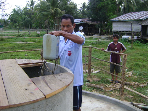 13 A completed well in Tropeang Rung commune