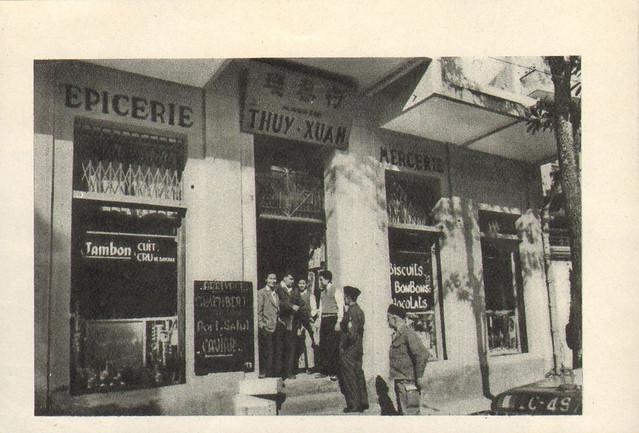 SAIGON PUBLICITE THUY-XUAN ALIMENTATION GENERALE EPICERIE 1953