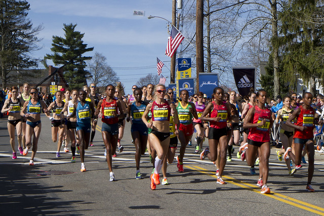 2014 Boston Marathon Elite Women