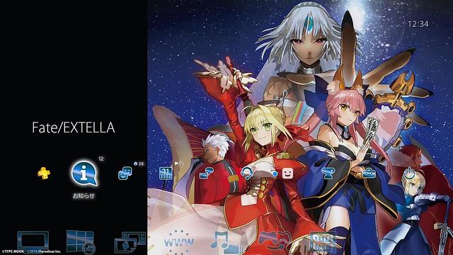 Fate/EXTELLA Vitaテーマ