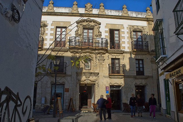 Casa palacio de los leones puerto de santa mar a c diz - Casa puerto santa maria ...