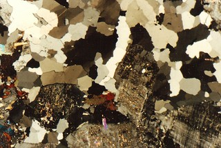 Rock microsection