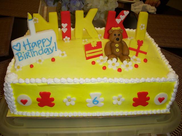 Birthday Cake Images With Name Nikki : Happy 6th Birthday Nikki Flickr - Photo Sharing!