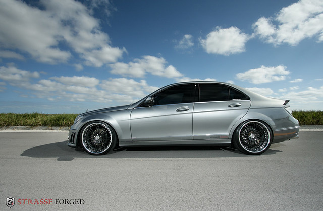 Strasse forged wheels mercedes c300 flickr photo sharing for Rims for mercedes benz c300