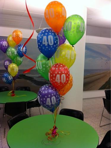Heliumballonnen Rijkswaterstaat Rijswijk