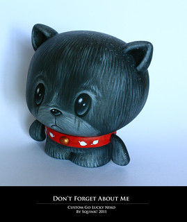 Don't forget about me - Custom Go Lucky Neko