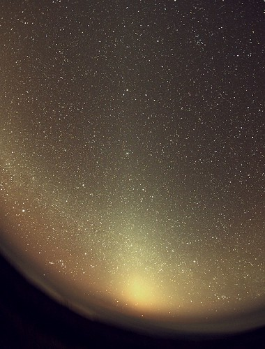 The Zodiacal light from La Palma