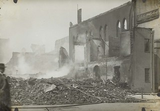 Third and Saint Clair Streets, Dayton, OH - 1913 Flood