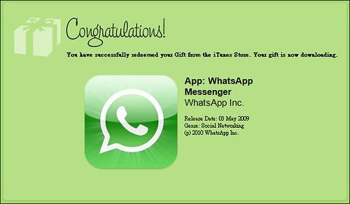 WhatsApp se encuentra gratis para Apple por Navidad