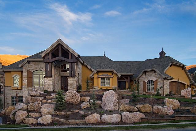 Utah luxury home builder cameo homes inc in bountiful Homebuilders utah