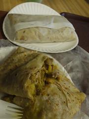 土, 2011-04-09 13:11 - Glenda's Restaurant チキンカレーロティ