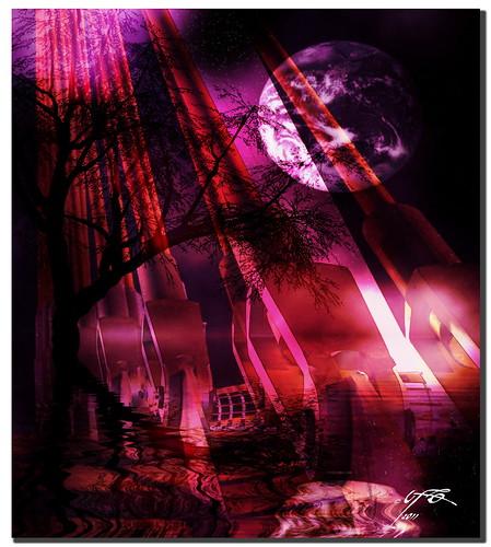 moon mountain textura photoshop photography photo spain stormy ufo nasa mondays spagna espacio cohete endeavour 2011 transbordador photomatrix stormymondays ufospain