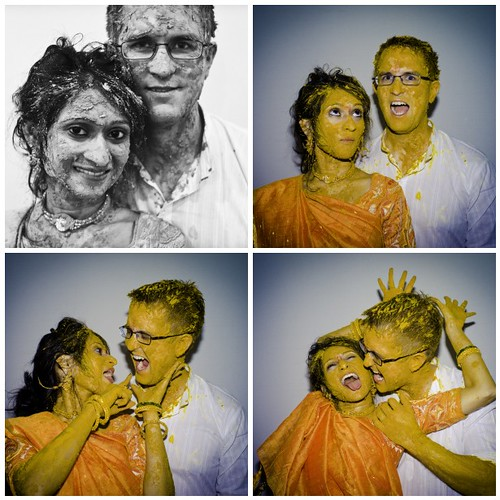 Haldi Ceremony Collage