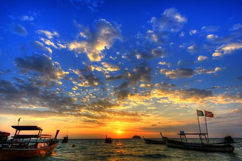 Andaman Sunrise / Sunrise Beach / Lipe Island / Southern Thailand