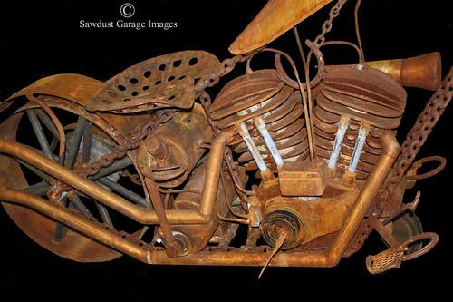 Harley Davidson Motorcycle Vintage