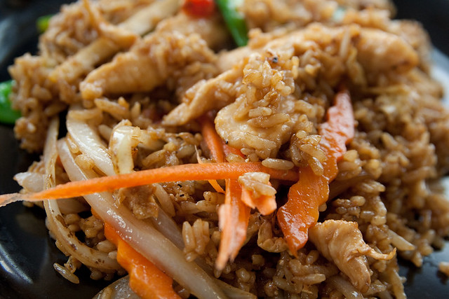 Ginger Chicken Fried Rice Erb Thai Dinner with Lourdie Apr… | Flickr ...