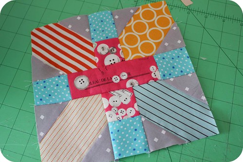 Japanese x and + quilt tutorial by badskirt - amy