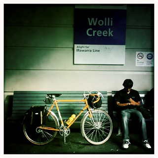 Wolli Creek...