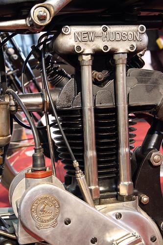 New Hudson 500 motorcycle engine