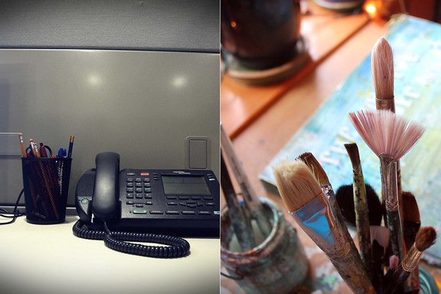 desktop, then vs. now