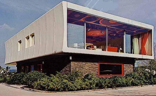 kunststoffhaus prefab house 1968