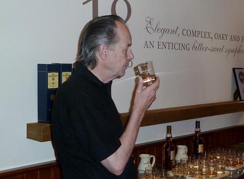 Tasting Glenlivet Whisky, Speyside