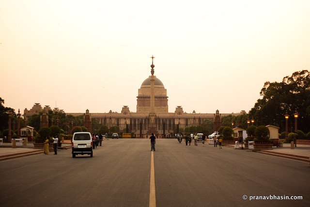 The Rashtrapati Bhawan