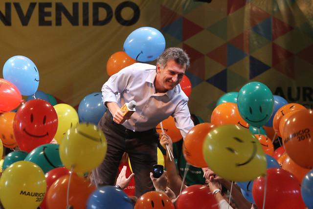 Mauricio Macri en el Club 17 de Agosto (9 de 39)