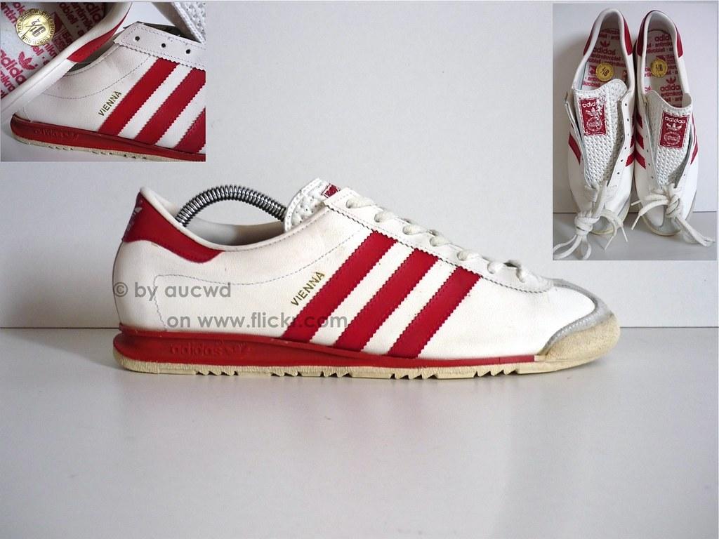 Flickr schoenen Vienna 70`s Made In Ongedragen 80`s Vintage Adidas W 4Bxgfq