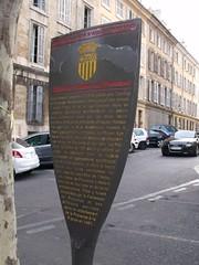 Photo of Palais des Comtes de Provence, René of Anjou, and Parlement de Provence grey plaque